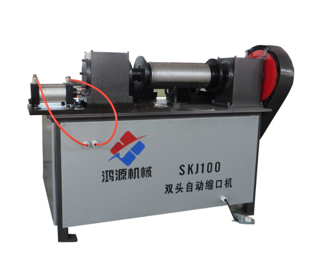SKJ100 fire extinguisher double automatic necking machine